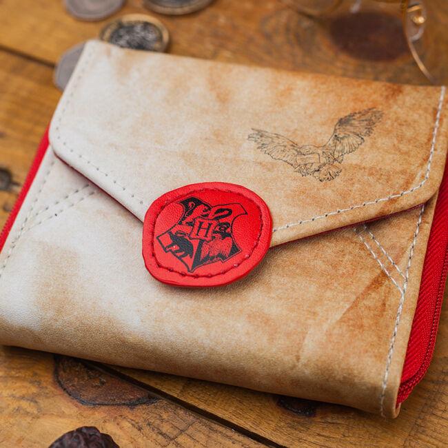 Harry Potter Hogwarts levél formájú pénztárca