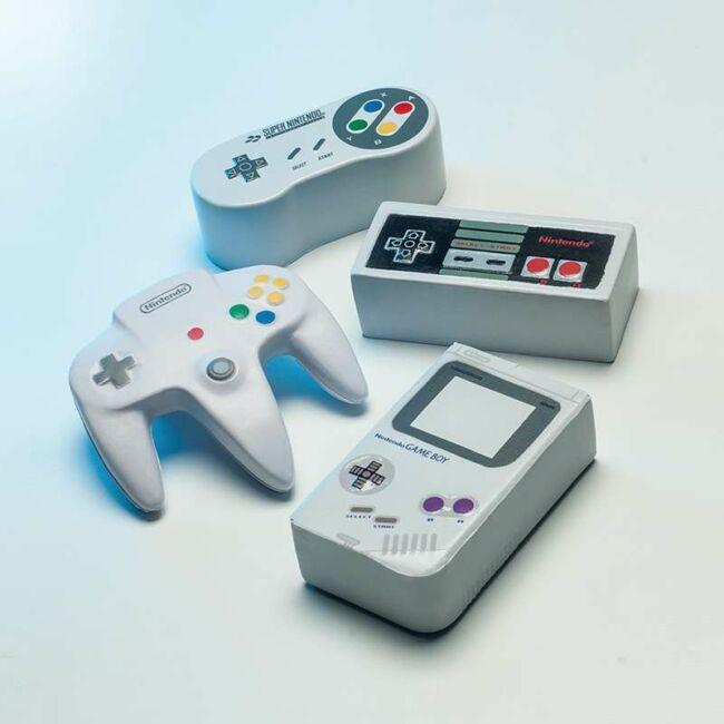 Nintendo stresszlabdák - többféle változatban Game Boy