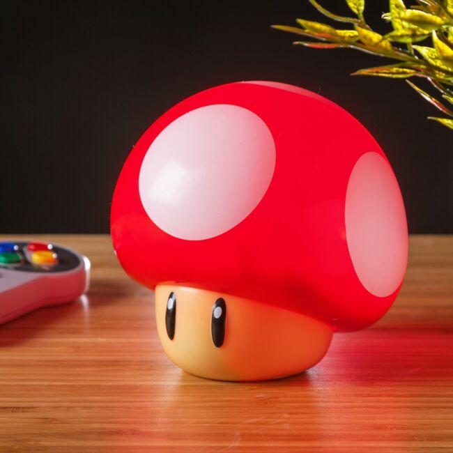 Super Mario gomba lámpa