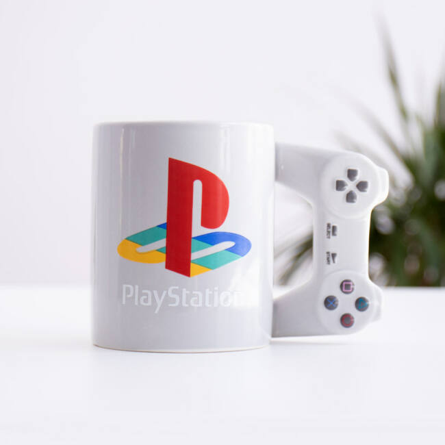PlayStation kontroller bögre