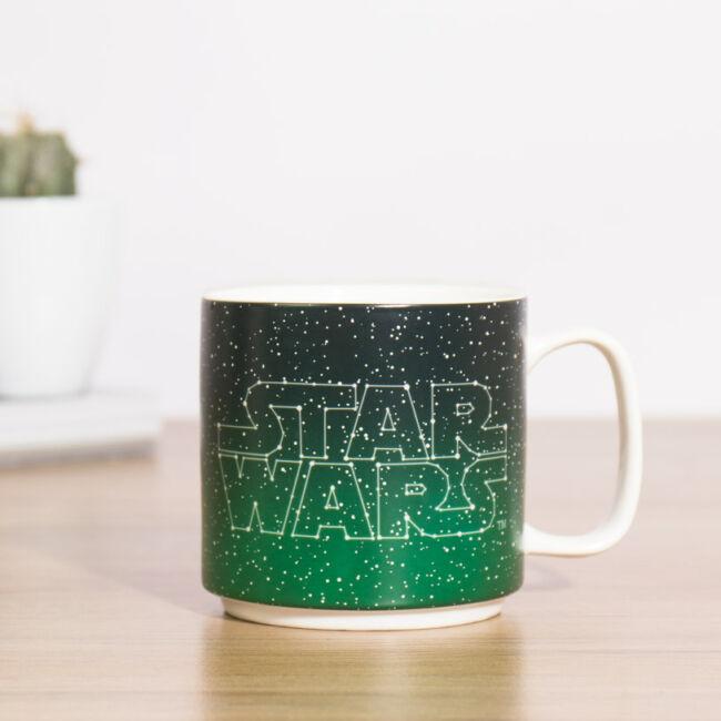 Star Wars csillagkép hőre változó bögre