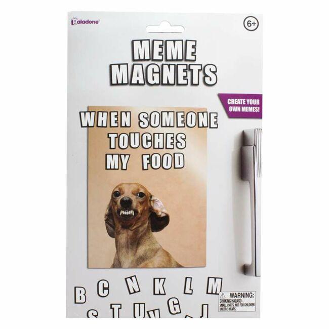 Csináld magad meme hűtőmágnes szett