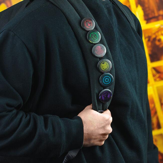 Marvel Avengers Infinity War - Bosszúállók végtelen háború kitűző szett (6 db)
