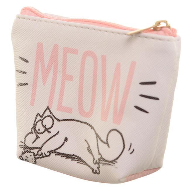 Simon macskája pénztárca Fehér: Meow