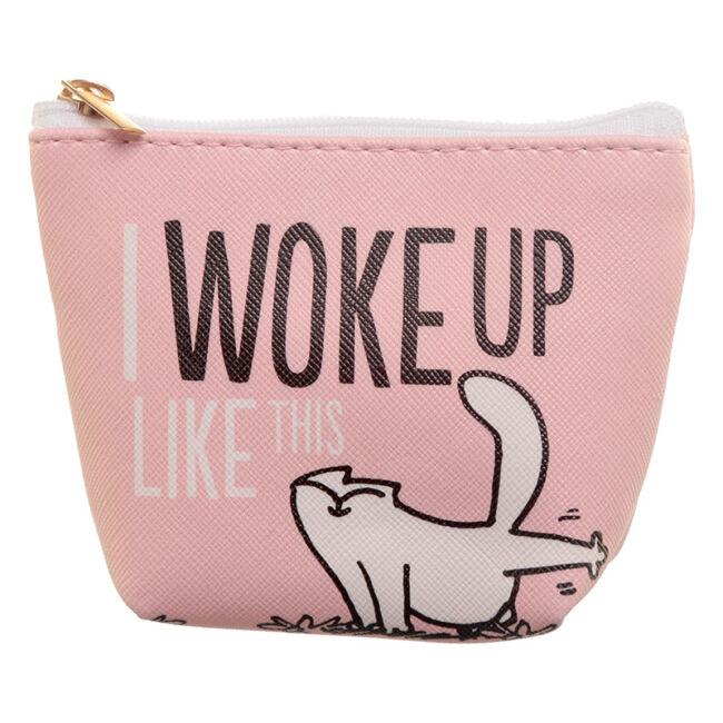 Simon macskája pénztárca Rózsaszín: I woke up