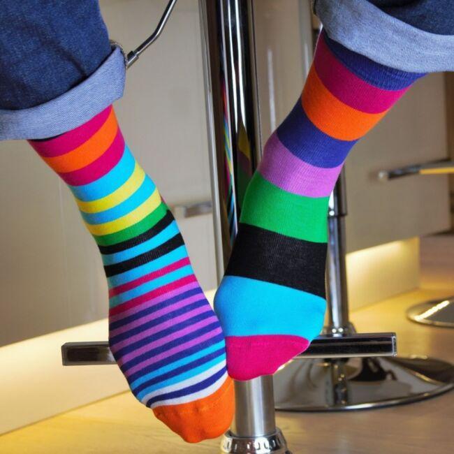 The Sock Exchange zokni szett - 6 db különböző mintájú zokni