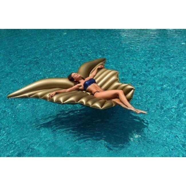 Angyal szárny felfújható strand matrac Arany