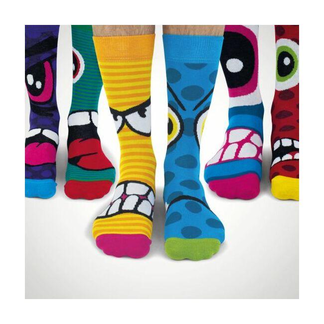 Stress heads zokni szett - 6 db különböző mintájú zokni