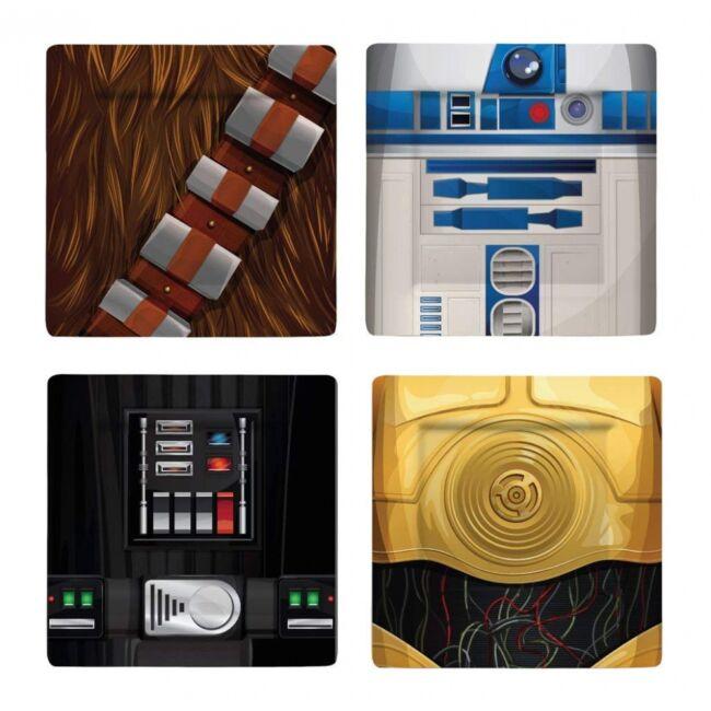 Star Wars 4db-os tányér szett