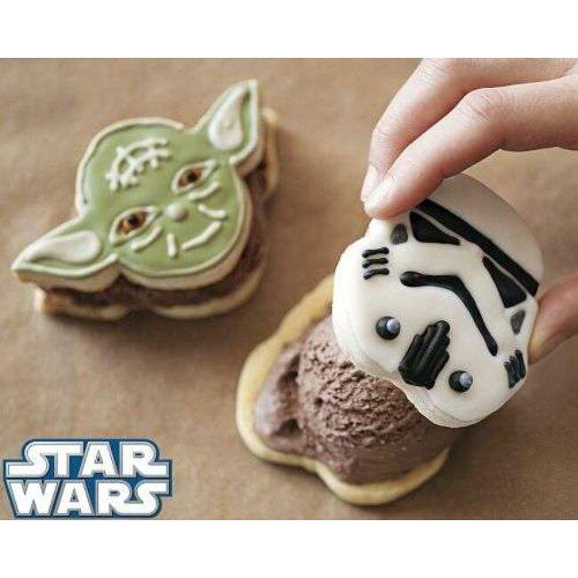 Star Wars 4db-os sütikiszúró szett