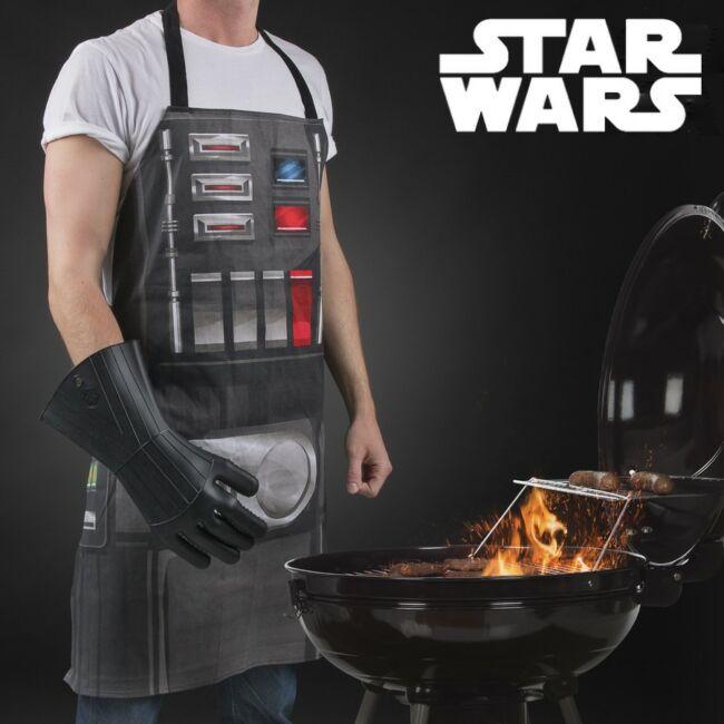 Star Wars Darth Vader kötény és sütő kesztyű 2db-os ajándék szett