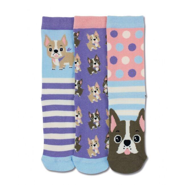 Kutyák - 3 darabos zokni szett