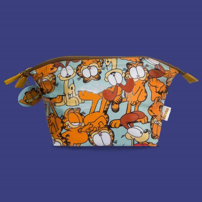 Garfield neszeszer táska kis tükörrel
