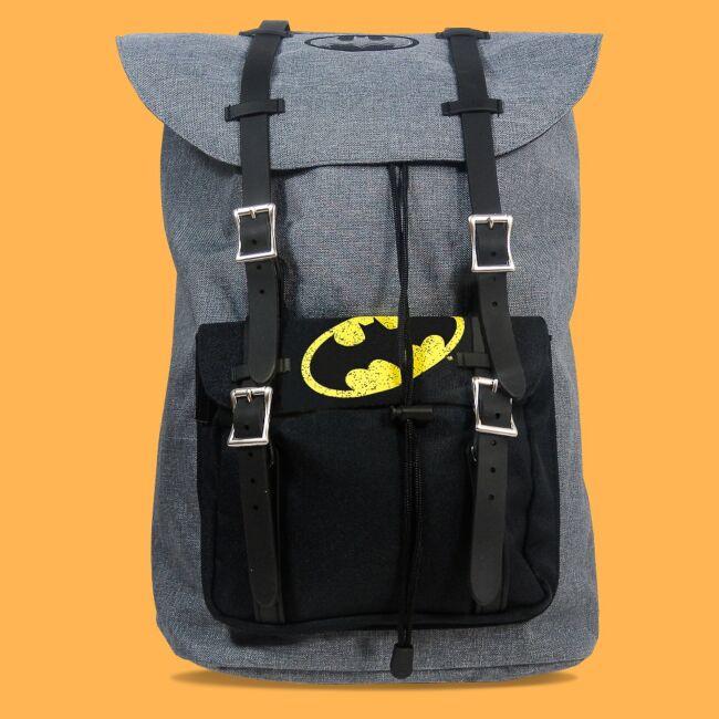 Batman szürke hátizsák