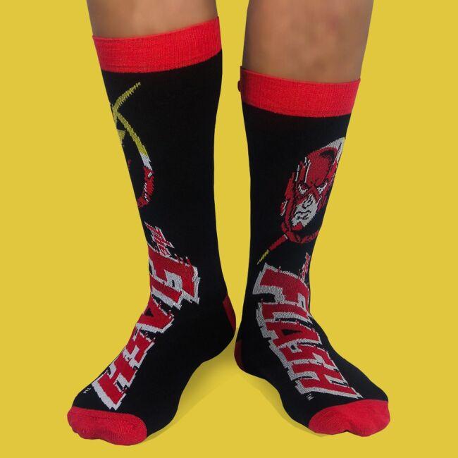 Flash zokni szett - 2 pár