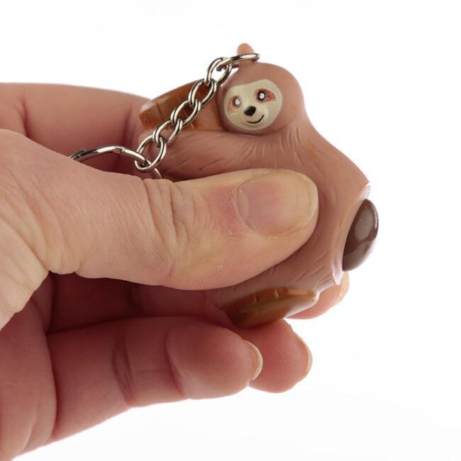 Kakiló lajhár kulcstartó