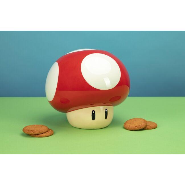 Super Mario gomba formájú süti tároló