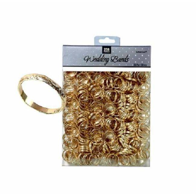 Arany Karikagyűrű Esküvői Asztaldekoráció - 288 db-os