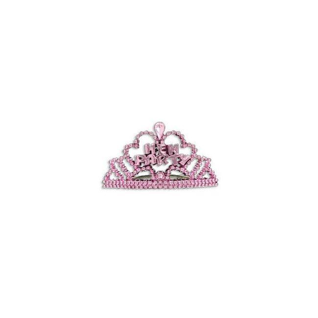 Hen Party Pink Mini Tiara Szett Lánybúcsúra - 6 db-os