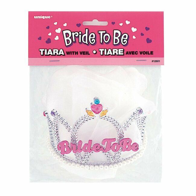 Bride To Be Feliratú Tiara Lánybúcsúra