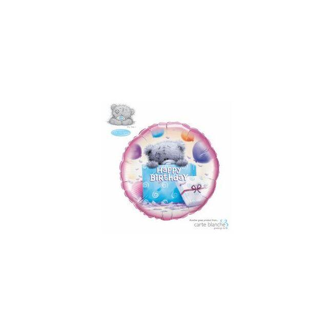 18 inch-es Macis - Tatty Teddy Birthday Present Szülinapi Fólia Lufi