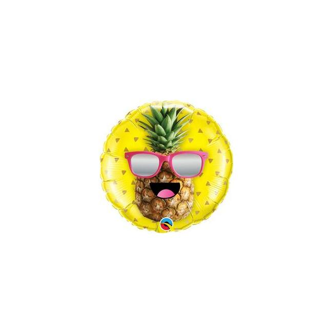 18 inch-es Mr. Cool Pineapple Fólia Lufi