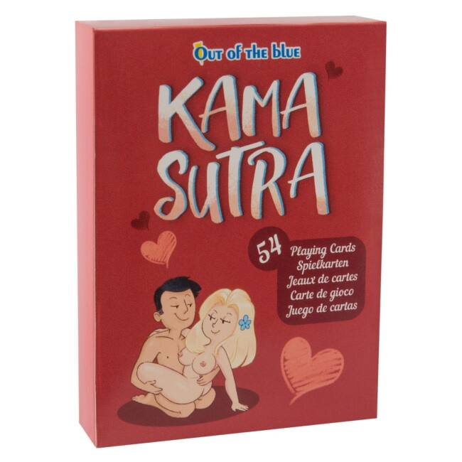 54 lapból álló franciakártya pakli, rajzolt párokkal, különböző szex-pózokban!