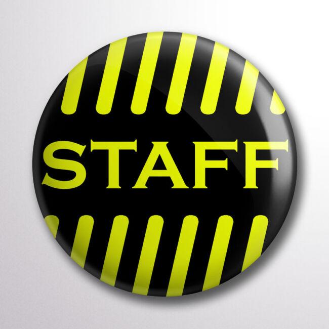 Staff kitűző