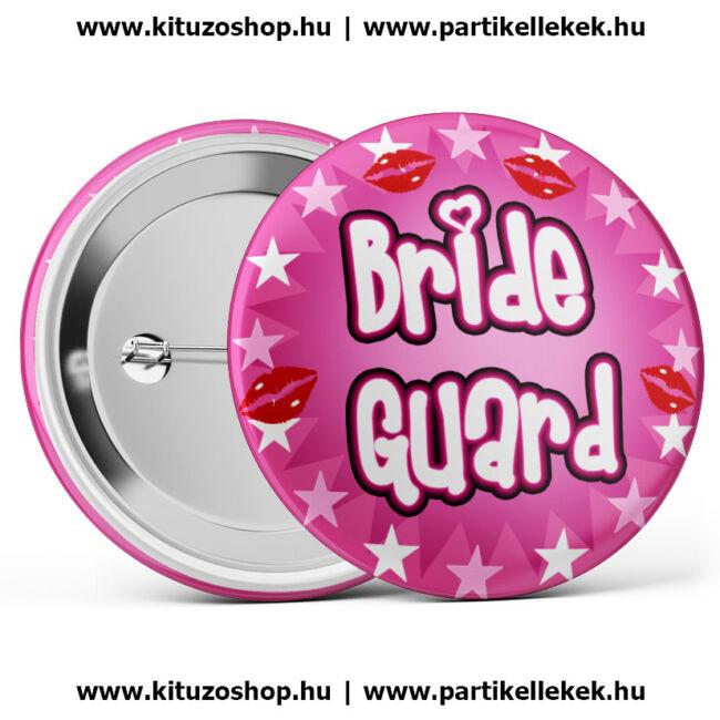 Bride Guard kitűző lánybúcsúra