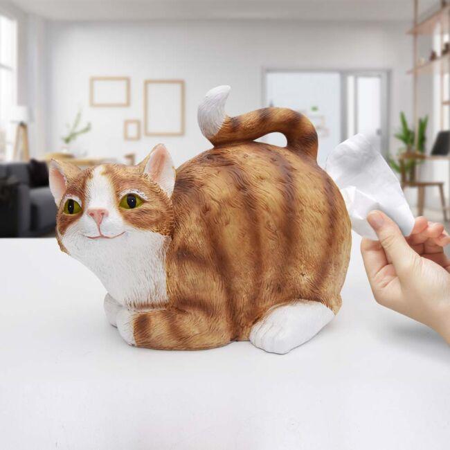 Zsebkendő adagoló macska seggkendő-adagoló