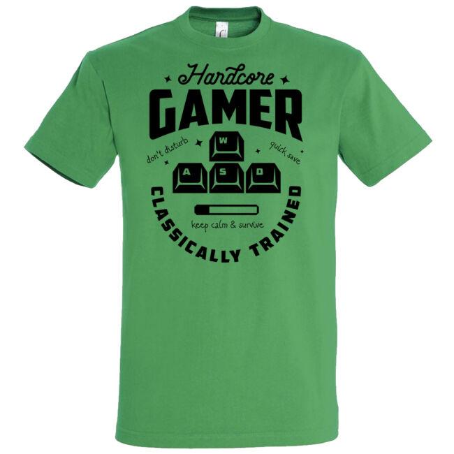 Hardcore Gamer póló több színben