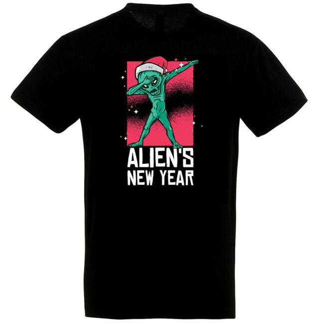 Aliens New Year póló, több színben