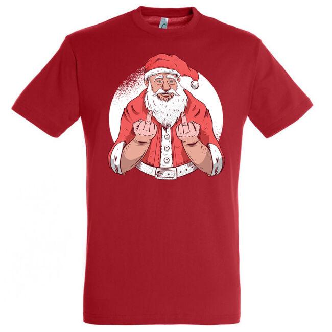 Santa F*ck off póló, több színben