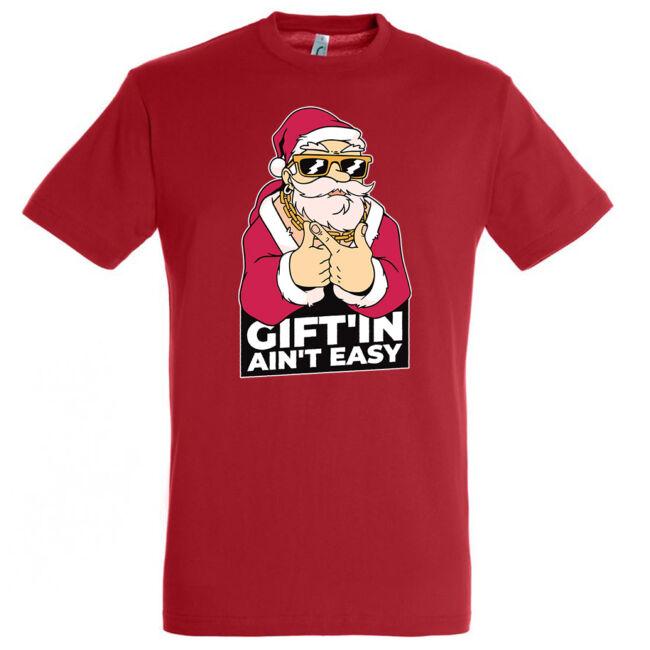 Santa Gangster póló, több színben