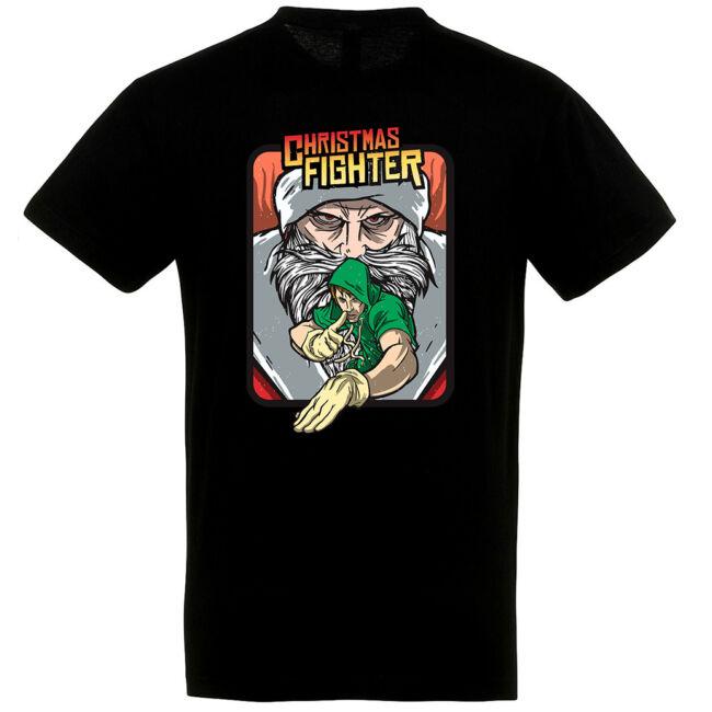 Christmas Fighter póló több színben