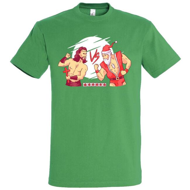 Christmas Kombat póló több színben