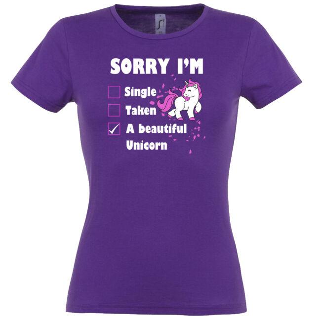 Csodálatos unikornis póló több színben