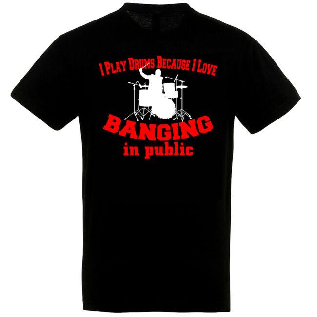 Dobos póló fekete színben