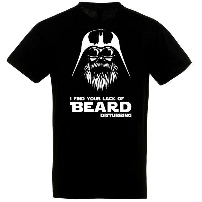 Beard Vader póló fekete színben