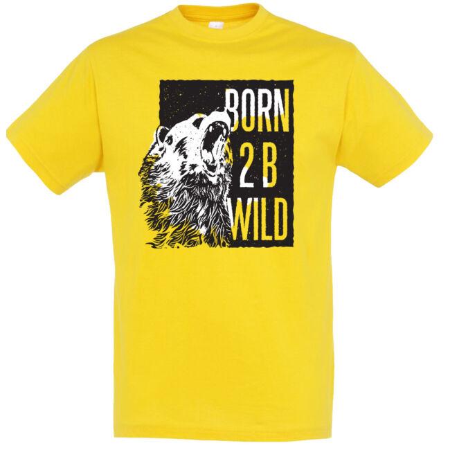Born to be wild póló több színben