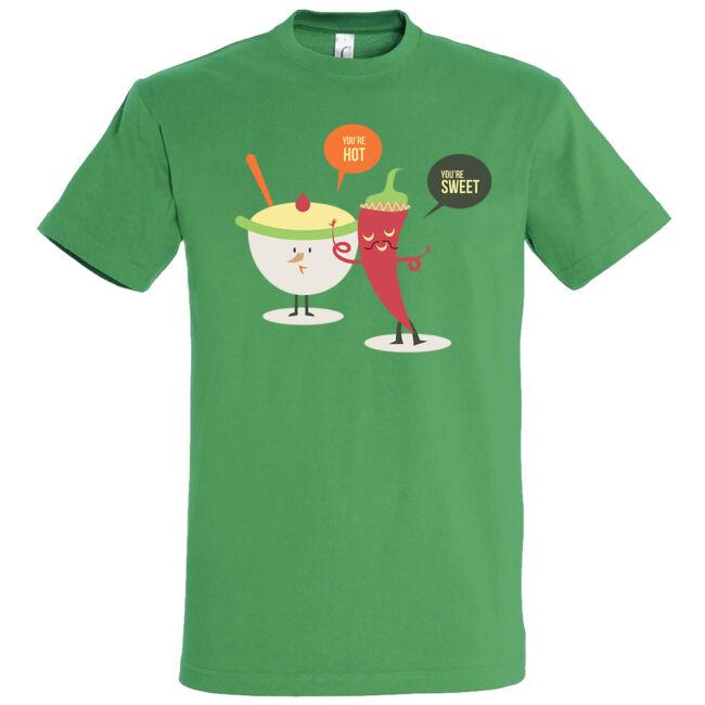 Hot and sweet póló több színben
