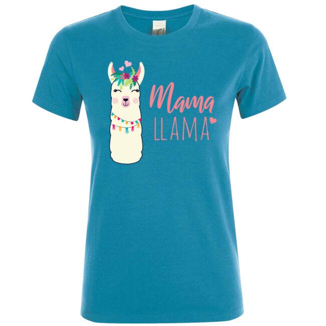 Mama llama póló több színben