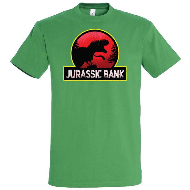 Jurassic Bank póló több színben