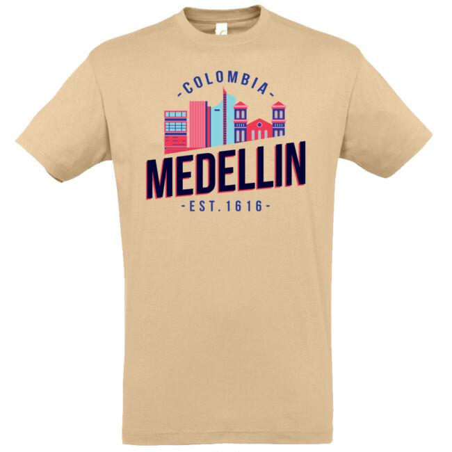 Medellin póló több színben