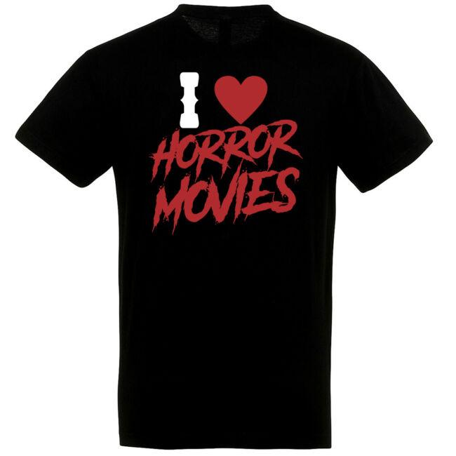 I love horror póló több színben