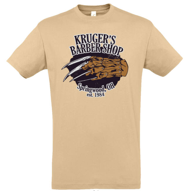 Kruger's Barber Shop póló több színben