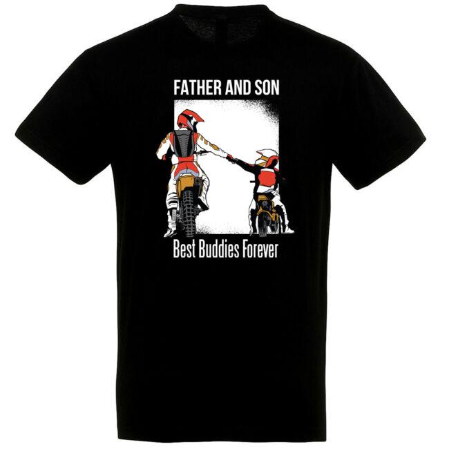 Father and son póló több színben