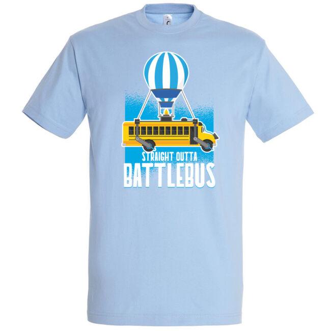 Battle bus póló több színben