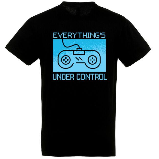 Everything's under control póló több színben