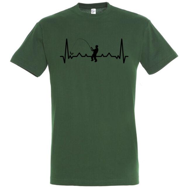 Heartbreak horgászos póló több színben